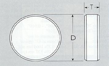 Plane Circular Mirror
